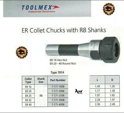 Bison R8 Collet Chuck Er-16