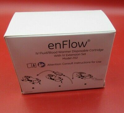 New 10 Pack Of Enflow Iv Fluidblood Warmer Disposable Cartridge Mod. 202