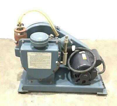 Welch Duo-seal Vaccum Pump Belt Drive Rotary Vane Pump 1376