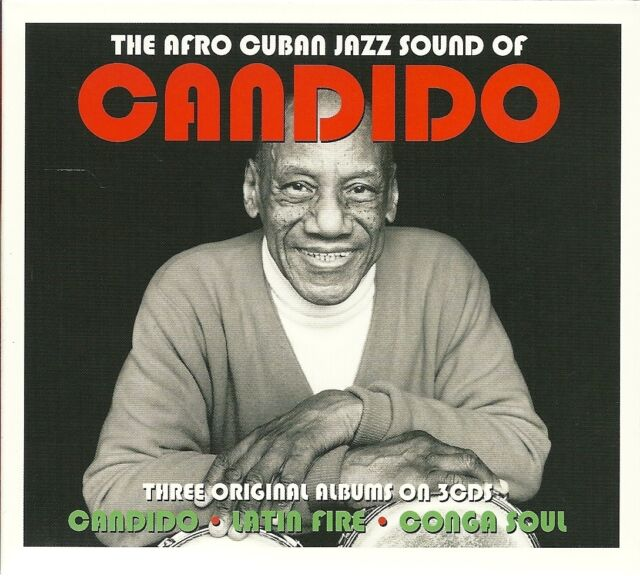 THE AFRO CUBAN JAZZ SOUND OF CANDIDO - 3 CD BOX SET - LATIN FIRE & MORE