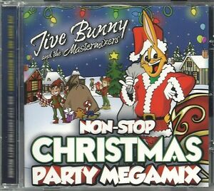 NON-STOP CHRISTMAS PARTY MEGAMIX JIVE BUNNY AND THE MASTERMIXERS CD