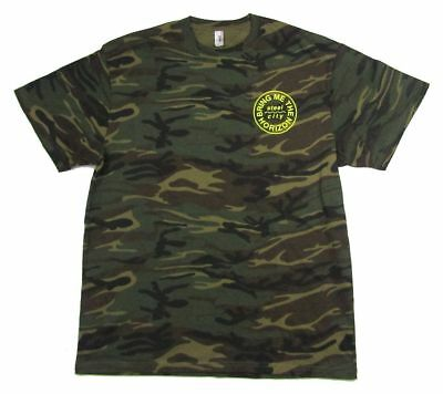 Bring Me The Horizon Wave Pocket Death Salvation Camouflage T Shirt New Official