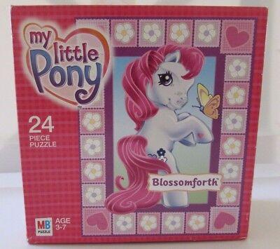 My Little Pony Blossomforth 24 Piece Puzzle Hasbro 2003 Valentine 10