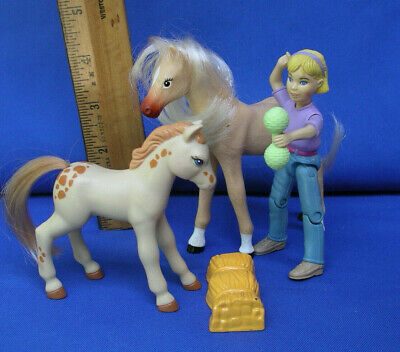 Fisher Price Loving Family Doll house PONY HORSE Sound magnet/girl accessory set