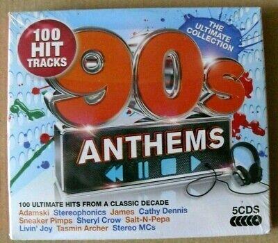 90s Anthems von Various Artists - 5 CD´s - 100