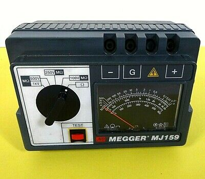 Megger Mj159 Hand Crank Voltage Reader - Free Shipping