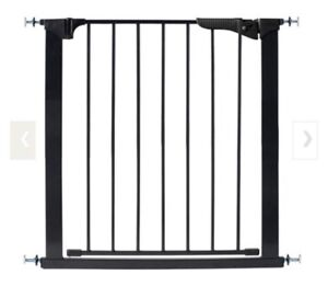 Black KidCo Gate with Extension
