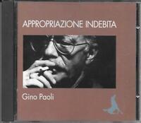 Gino Paoli - Raro Cd Promo Rai , Appropriazione Indebita , -  - ebay.it