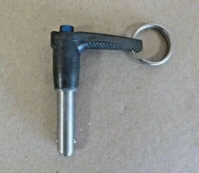 316 X 12 Grip 17-4 Stainless Avibank Ball Lock Quick Release Pin L Hdl