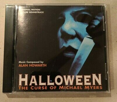 Halloween 6: CD Curse of Michael Myers Original Motion Picture Soundtrack OOP