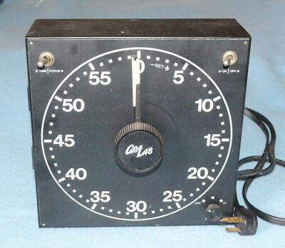 Very good condition Gralab Model 300 Darkroom enlarger timer 60 mins tested