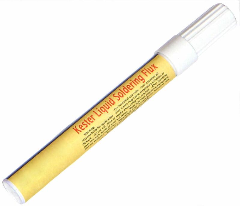 Kester 186 Liquid Soldering Flux, RMA Rosin, 12ml Pen