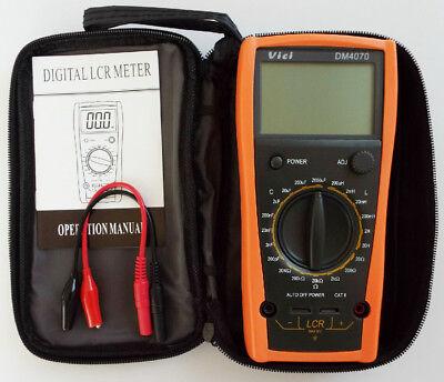 Dm4070 Lcr Meter Multimeter Inductance Capacitance Ohm