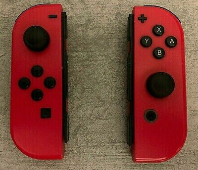 NINTENDO SWITCH JOY-CON SUPER MARIO RED CONTROLLERS - OFFICIAL LIMITED EDITION