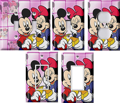 Mickey and Minnie Mouse - Light Switch Covers Home Decor Outlet](Mickey And Minnie Mouse Decorations)