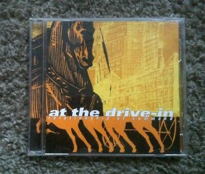 AT THE DRIVE IN Relationship of Command CD Mars Volta SPARTA ENGINE DOWN METAL