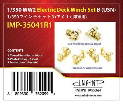 1/350 INFINI MODEL WW2 ELECTRIC DECK WINCH SET B (USN) for sale  Killeen