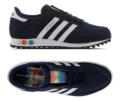 Adidas Originals LA trainer mens men shoes trainers navy EG4529 rare colourway