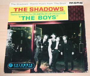 THE SHADOWS - THE BOYS. UK . EP 7