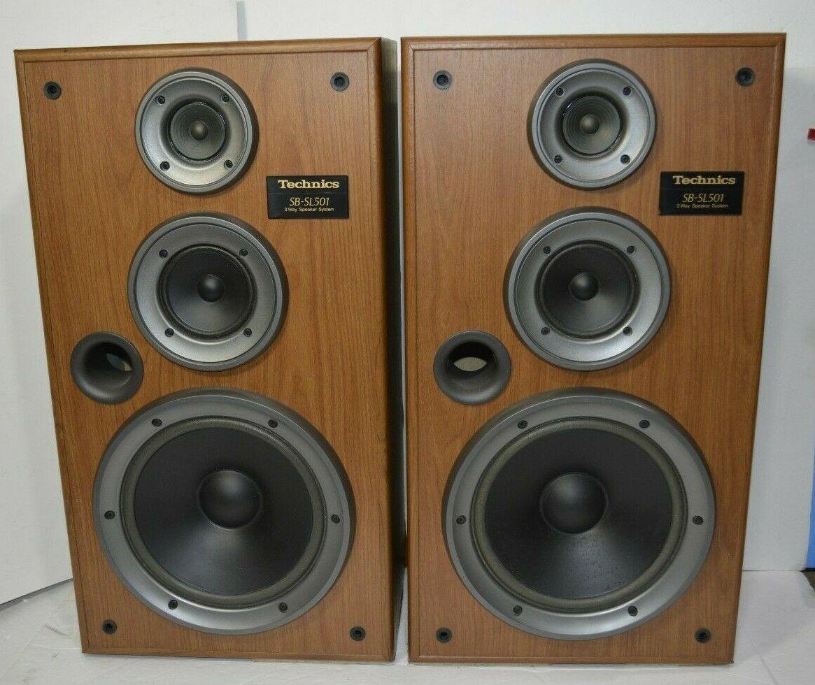 Technics SB-SL501 3 Way Speakers Made In USA  - $192.50