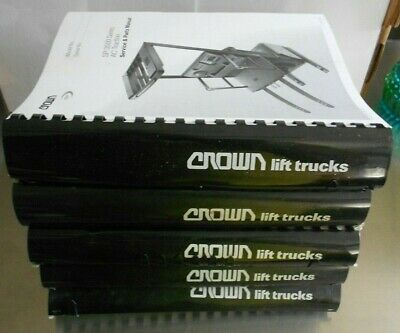 Crown Forklift Service Parts Manuals - Sp Series 3000 3200 3400 3500