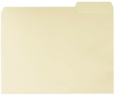 File Folders - Letter Size 100 Pack Manila Free Fast Shipping