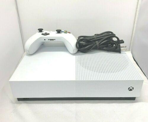Microsoft Xbox One S All-Digital Edition 1TB Video Game Console - White