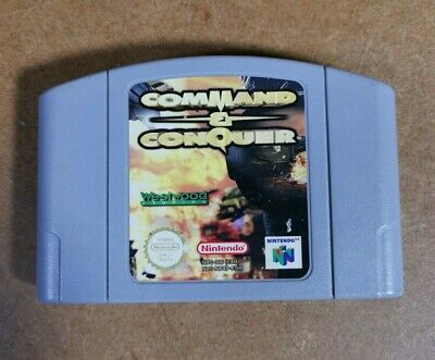 Command & Conquer Nintendo 64 N64 Game UK PAL Cart Only