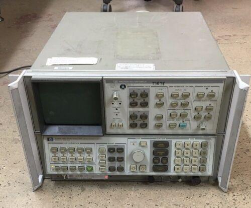 HP Spectrum Analyzer 8566A & 85662A Display Hewlett-Packard