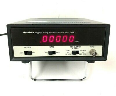 Heathkit Im-2410 225mhz 225 Mhz Digital Frequency Counter - Free Shipping