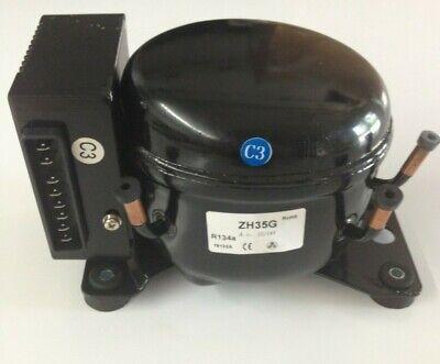 12 / 24V DC Refrigeration Marine Compressor Fridge Freezer Solar ZH35G R134a