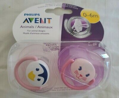 Philips Avent Pacifier 0-6 M Girl Colors - SCF182/13