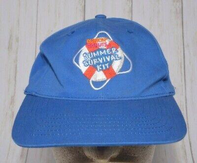Dunkin Donuts Summer Survival Kit Hat Cap Adjustable