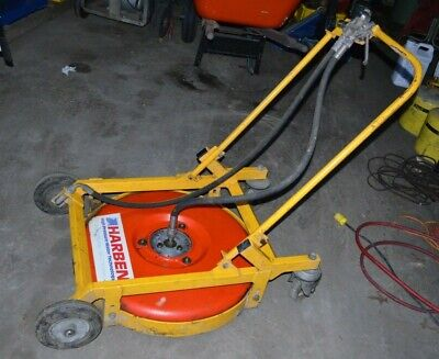 Harben Heavy Duty Hoverclean High Pressure Surface Floor Cleaner 5000-7000 Psi