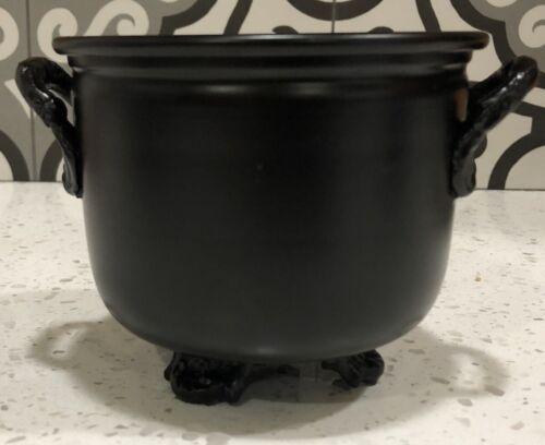 Black Metal Cauldron, Offering Bowl, or Incense Censer!