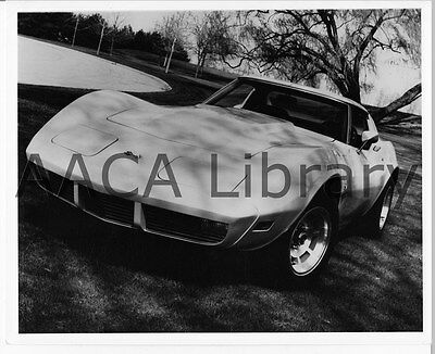 1973 Chevrolet Corvette Sport Coupe, Factory Photo (Ref. - 1973 Corvette Coupe