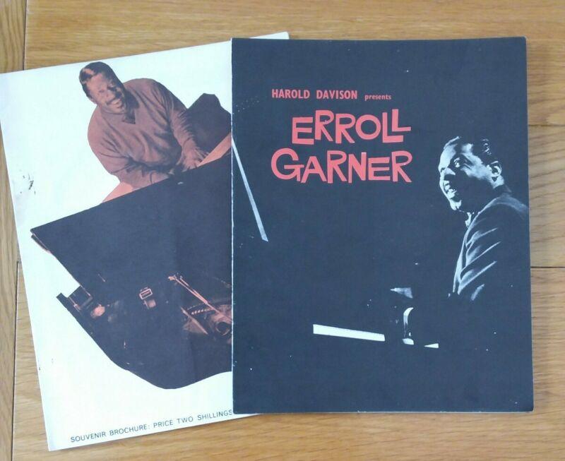 Erroll Garner Souvenir Programmes x 2 (See Description)