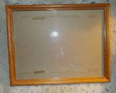 - Honey oak wood frame, 10