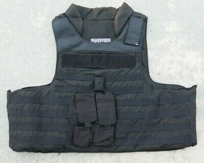 Point Blank TACTICAL Level IIIA Body Armor Bullet Proof Vest LARGE LONG Large Bullet Tip