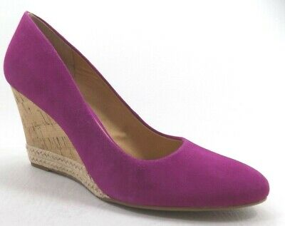 Franco Sarto Womens Hot - Franco Sarto Women's Hot Pink Leather Dress Shoes Size 8M New Gorgeous