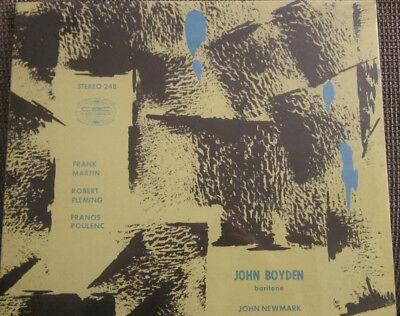 CBC Canada Stereo 248 Martin-Fleming-Poulenc Boyden-Bariton + Newmark 1956 ()