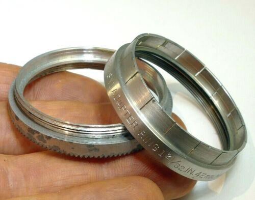 "Kodak series 6 VI Adapter 1 21/32""  slip on  to 42mm  Filter Ring holder"