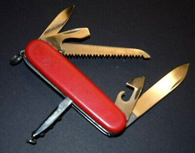 RARE VINTAGE ELINOX VICTORINOX HOFFRITZ CAMPER 50'S KNIFE SWISS MADE