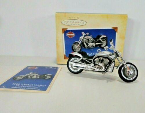 Harley Davidson 2002 VRSCA V-Rod Hallmark Ornament 2004 Motorcycle Die Cast