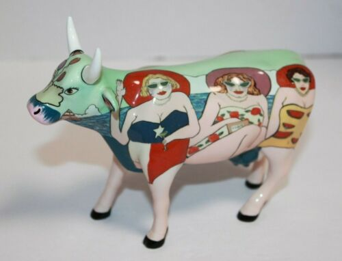 2001 Westland Fun Seeker Cow Parade Figurine 9199