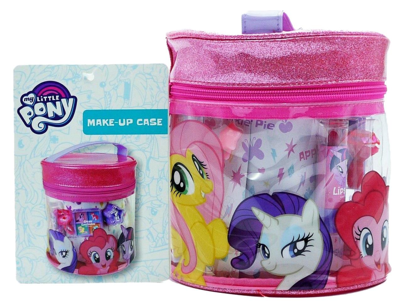 My Little Pony Pink Sparkly Make-Up Case Girls Gift Set Inc Make-Up