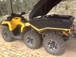 2015 Can-Am 6 Wheeler Outlander 6x6 1000 XT Quad Bike ATV Inverell Inverell Area Preview