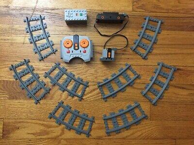 USED Lego V Power Functions Train Motor 88000 88002 8884 8879 Receiver Tracks