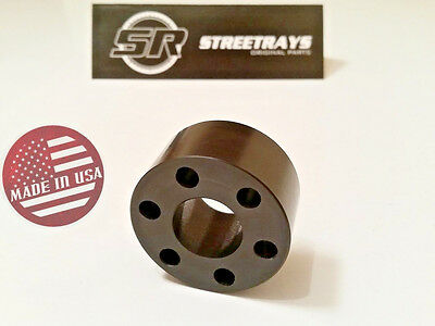 StreetRays 09+ Cadillac CTS-V & 12+ Chevy Camaro Solid Supercharger Isolator LSA for sale  Austin