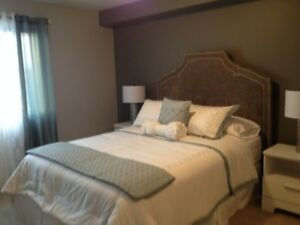 Newly furnished 2 bedroom condo in Blue Quill! U/G parking!